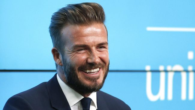 David Beckham mengaku tercengang saat bertemu dengan John Bradley, aktor yang memerankan karakter Samwell Tarly dalam serial megahit 'Game of Thrones.'