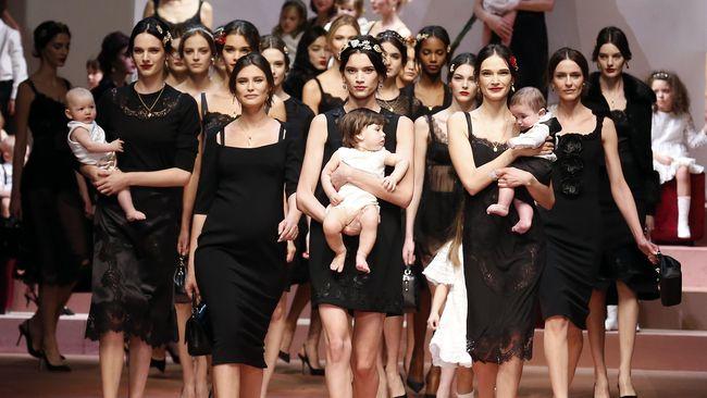 Segmen anak menjadi 'sasaran empuk' dunia fesyen. Berikut lima rumah mode ternama yang memiliki lini fesyen anak.