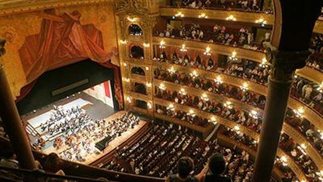 Ilustrasi gedung opera