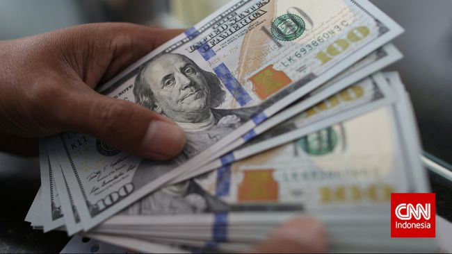 BI mencatat utang luar negeri Indonesia naik 4 persen tembus US$422,6 miliar per Februari 2021 atau setara Rp6.164 triliun.
