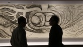 Karya pasangan seniman keturunan Meksiko, Frida Kahlo dan Diego Rivera, siap dipamerkan di Detroit Institute of Arts, Michigan, AS, mulai 15 Maret 2015.