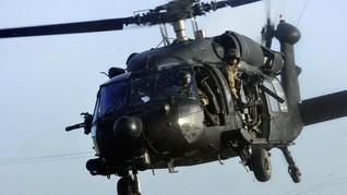 Helikopter Militer AS Ditembak di Virginia, 1 Pilot Terluka