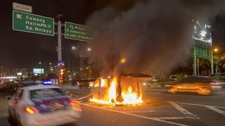 Berpacu dengan Waktu, Cara Selamat Saat Mobil Dilalap Api