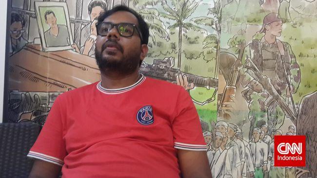 Koodinator Kontras Haris Azhar meminta informasi soal dugaan keterlibatan oknum aparat hukum dalam bisnis narkoba tak ditanggapi secara berlebihan.
