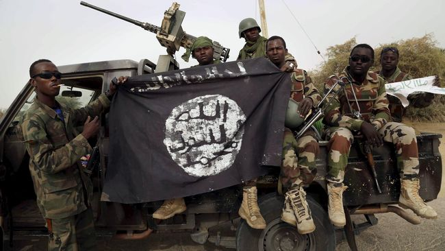 Setidaknya 65 orang tewas dalam serangan ganda oleh pihak yang diduga kelompok radikal di negara bagian Borno, Nigeria, pada Minggu (28/7).