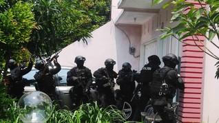 Sempat Uji Coba Bom Rakitan, 5 Terduga Teroris Ditangkap