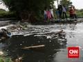 Kali Mas Surabaya Tercemar Klorin Bahan Disinfektan Corona