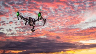 Covid, Malaysia Pakai Drone Cek Suhu dari Ketinggian 20 Meter