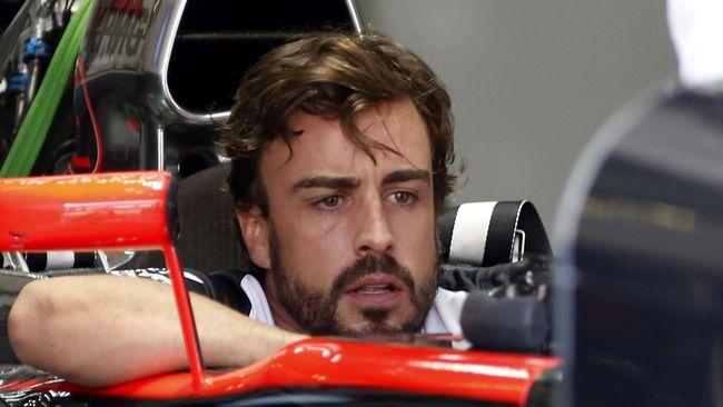 Konon Alonso kecewa berat dengan performa pacuan dan timnya, McLaren, di ajang balap Formula 1.