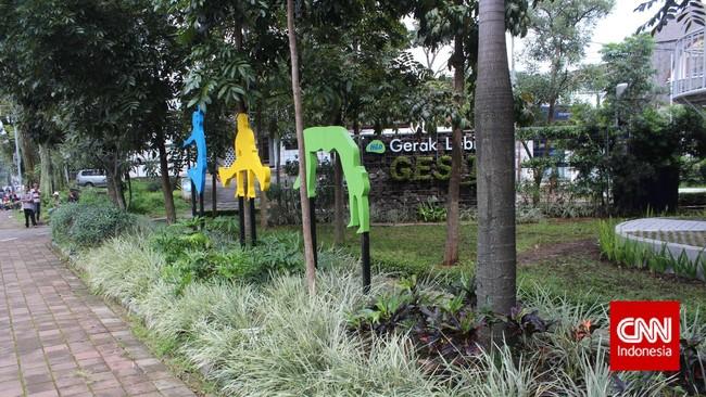 PPKM Level 2, Taman di Bandung Buka untuk Umum