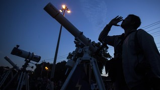 Pemprov DKI Siapkan Kawasan Wisata Sambut Gerhana Bulan Total