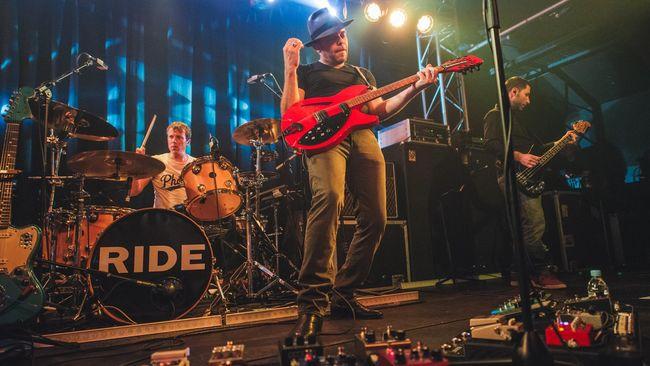 Kabar reuninya Ride sebenarnya telah diumumkan sejak November 2014. Dan saat ini jadwal tur dunia mereka telah resmi diumumkan.