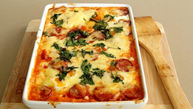 Paduan antara sayur, saus keju, dan pasta bisa membuat olahan sayur lebih disukai banyak kalangan, terutama anak-anak.