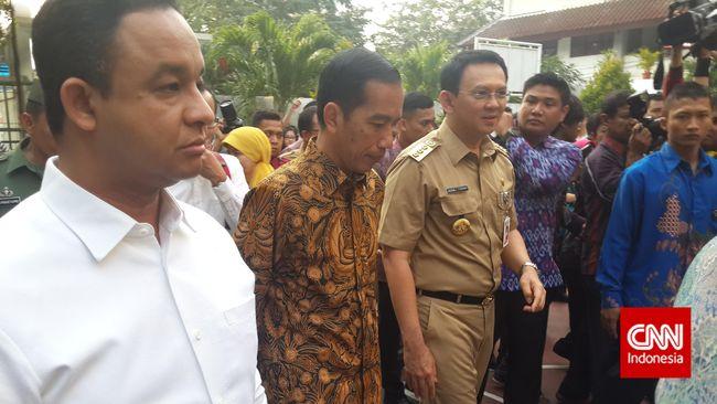 Wakil Ketua TKN Arsul Sani mengatakan skenario Anies-Sandi mengalahkan pasangan Ahok-Djarot saat Pilgub DKI tak bisa diterapkan di Pilpres 2019.