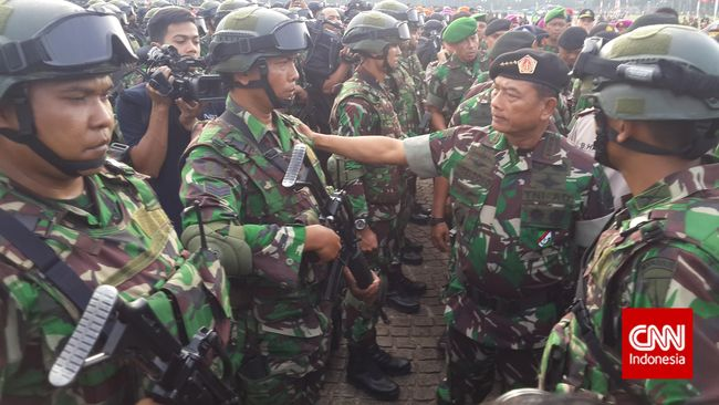 Panglima TNI Minta Menlu Protes ke Malaysia soal Ambalat