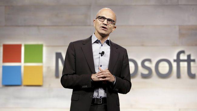 Microsoft kini menjadi perusahaan paling bernilai di AS setelah total sahamnya menyentuh angka US$1 triliun, mengalahkan Apple dan Amazon.