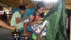 Batik Karya Saya, Sang 'Rookie' Perajin Batik Muda
