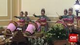 Hari ini (22/4), para delegasi Konferensi Asia Afrika (KAA) mengadakan acara makan siang di Istana Bogor.