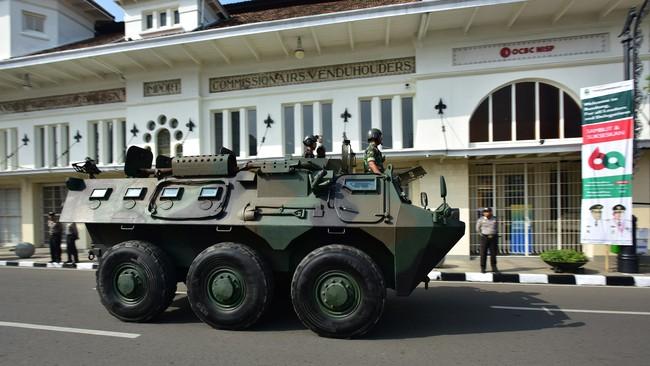 Kota Bandung bersiap menjadi tuan rumah peringatan 60 tahun Konferensi Asia Afrika dan menggelar simulasi pengamanan tamu-tamu negara yang akan hadir.