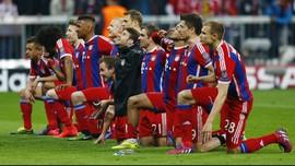 Foto-Foto Kemenangan Sensasional Bayern Munich