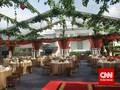 Gala Dinner KAA, Halaman Tengah Istana Disulap Jadi Memukau