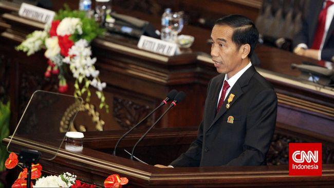 Presiden Jokowi akan acungkan dua jempol kepada anggota DPR jika berhasil tuntaskan pembahasan omnibus law RUU Cipta Lapangan Kerja dalam 100 kari kerja.