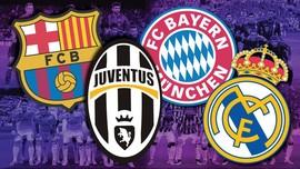 Ketatnya Semifinal Liga Champions dalam Infografis