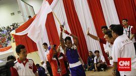 Julio Bria Harumkan Nama Bangsa dari Atas Ring