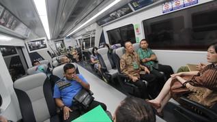 Penumpang Suhu 38 Derajat Dilarang Menumpang Kereta Bandara
