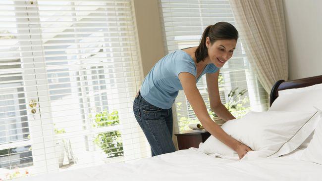 Hanya karena terlihat bersih dan tidak berbau, bukan berarti seprai bersih dan higienis.