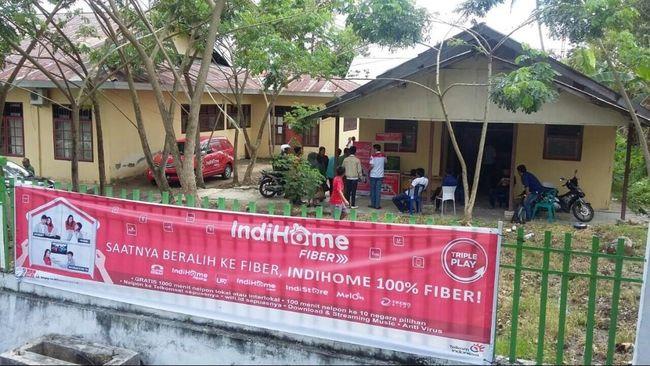 Telkom Indonesia mengakui gangguan jaringan internet IndiHome terjadi di berbagai wilayah Indonesia hari ini.