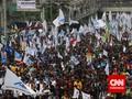 Buruh Batal Aksi 30 April Usai Jokowi Tunda Bahas Omnibus Law