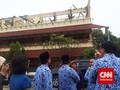 Ahok Monitor Ujian Nasional di SMP yang Dilanda Kebakaran