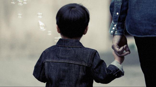 Ilustrasi anak korban penculikan