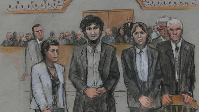Pengadilan Federal Boston menjatuhkan hukuman mati kepada Dzhokar Tsarnaev, pengebom Maraton Boston yang masih hidup, dan menolak opsi hukuman seumur hidup.