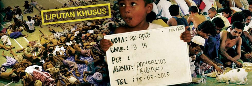 Orang Rohingya Mencari Suaka