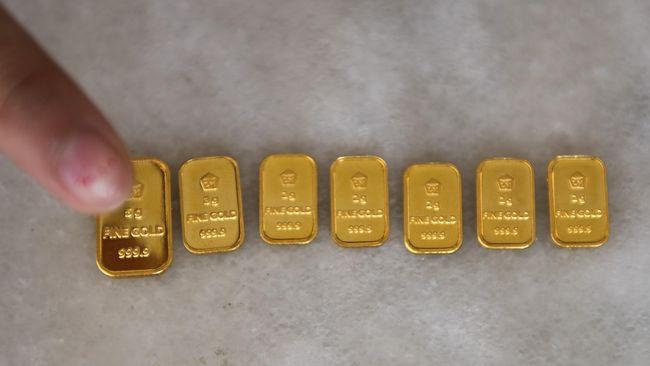 Harga Emas Antam Hari Ini 25 Januari Naik Ke Rp958 Ribu