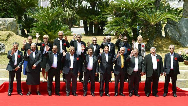Utang negara-negara Pasifik, termasuk Tonga, kepada China sangat besar.