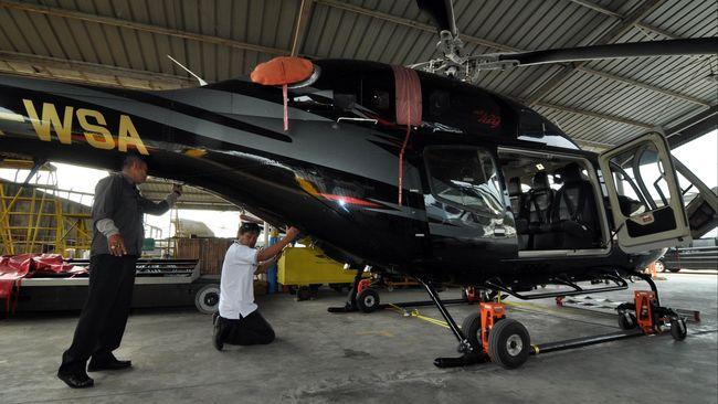 Helikopter dapat menjadi alternatif transportasi untuk mudik Lebaran. Tarif sewa untuk rute Jakarta-Bandung dipatok Rp15 juta.