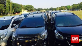 Seribuan Mobil Bakal Bentuk Logo Chevrolet Raksasa Besok