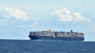 Kapal Kargo Iran Kandas di Perairan Batam Sejak Mei 2020