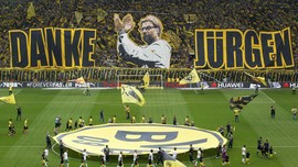 Foto-Foto Dortmund Ucapkan Selamat Tinggal untuk Klopp