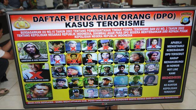 Polri kembali menerbitkan dua nama dalam daftar pencarian orang (DPO) kasus teroris di DKI Jakarta.