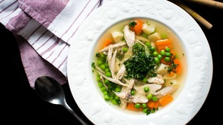 Sop Ayam Pak Min Klaten Hangatkan Hati Pelanggan GrabFood