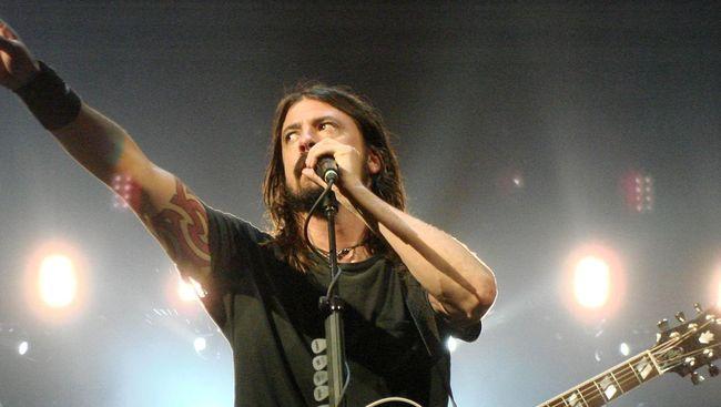 Dave Grohl, mantan personel Nirvana yang kini bermusik bersama Foo Fighters.