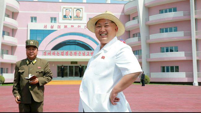 Yayasan Pendidikan Sukarno memberikan penghargaan untuk Kim Jong Un yang dianggap sebagai tokoh anti-imperialisme.