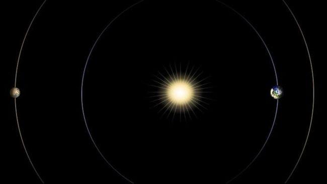 Planet Venus dan Mars diketahui akan mencapai posisi sejajar dan seperti sedang 'berduet'. Fenomena alam di awal tahun 2016.