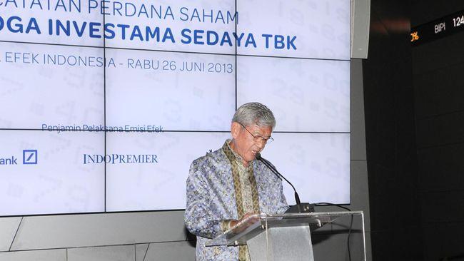 Di tengah pasar keuangan yang sedang turun, PT Saratoga Investama Sedaya justru mengincar penambahan portofolio.