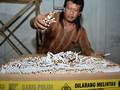 Dalam 1 Dekade, Ditjen Bea Cukai Berangus 3.915 Pabrik Rokok