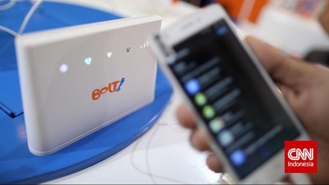 Jumlah pelanggan yang memakai peranti mobile Wi-Fi di jaringan Bolt mencapai angka 90 persen. Perusahaan berharap jumlah pengguna ponsel dan tablet tumbuh.